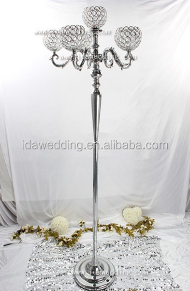 Crystal Bowl With Stand Wedding Pillarlighted Metal Wedding Flower Amazing Decorating With Crystal Bowls