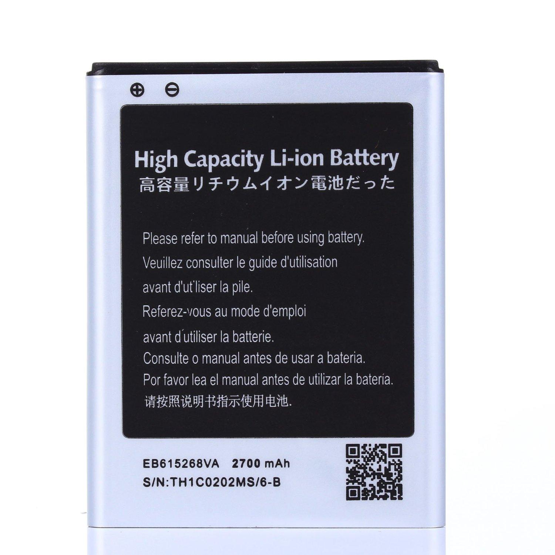 High Capacity Samsung Galaxy Note SGH-i717 Battery EB615268VA EB615268VU For Samsung Galaxy Note SGH-i717 / Samsung Galaxy Note SGH-T879 / Samsung Galaxy Note GT-N7000 / Samsung Galaxy Note GT-I9220 2700 mAh