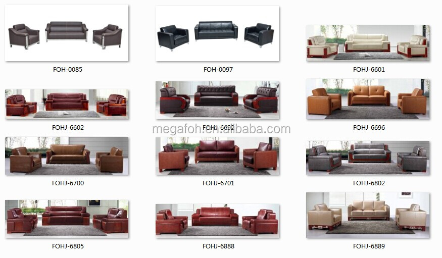 leather office furniture sofa. high end luxury reception area genuine leather sofa hotel lobby furniture foh129 office m
