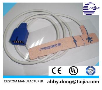 Nellcor Adult/neonatal Disposable Pulse Oximeter Spo2  Probe,9p,Encryption,Non-woven - Buy Fda/ Ce/ul/iso Approval,100% Viscose  Fabric