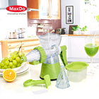 Multifunctional manual hand plastic fruit lemon citrus orange juicer