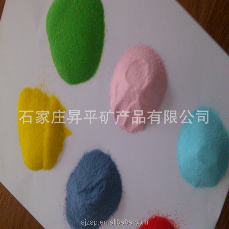 color sand natural sand artificial sand