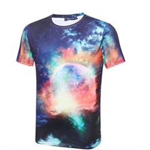 Low MOQ Latest Design Dye Sublimation Custom Men T Shirt Printing