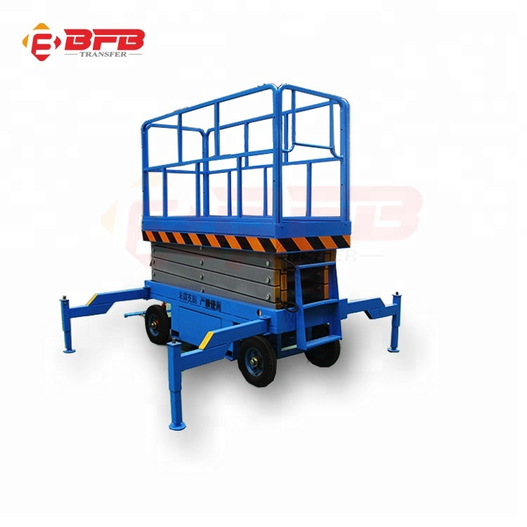 Manufacturer directly hydraulic mobile lift table ramp for hot sale