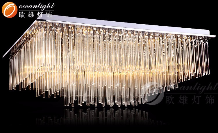 Kronleuchter Decke Modern ~ Luxus moderne k kristall beleuchtung flache kronleuchter decke