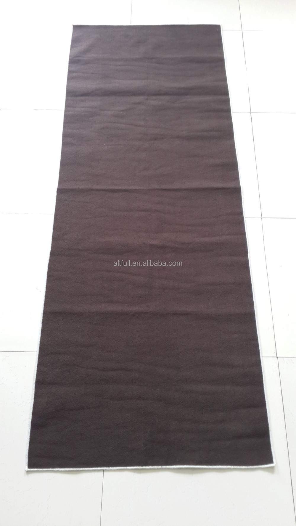 wholesale alibaba non-slip suede microfiber yoga towel with paper tapes,yoga mate