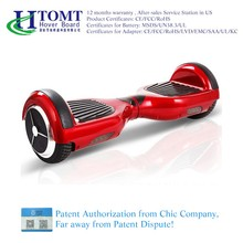 Wholesale TUV UL certificated safety custom hoverboard new products 2016 china hoverboard with samsung battery