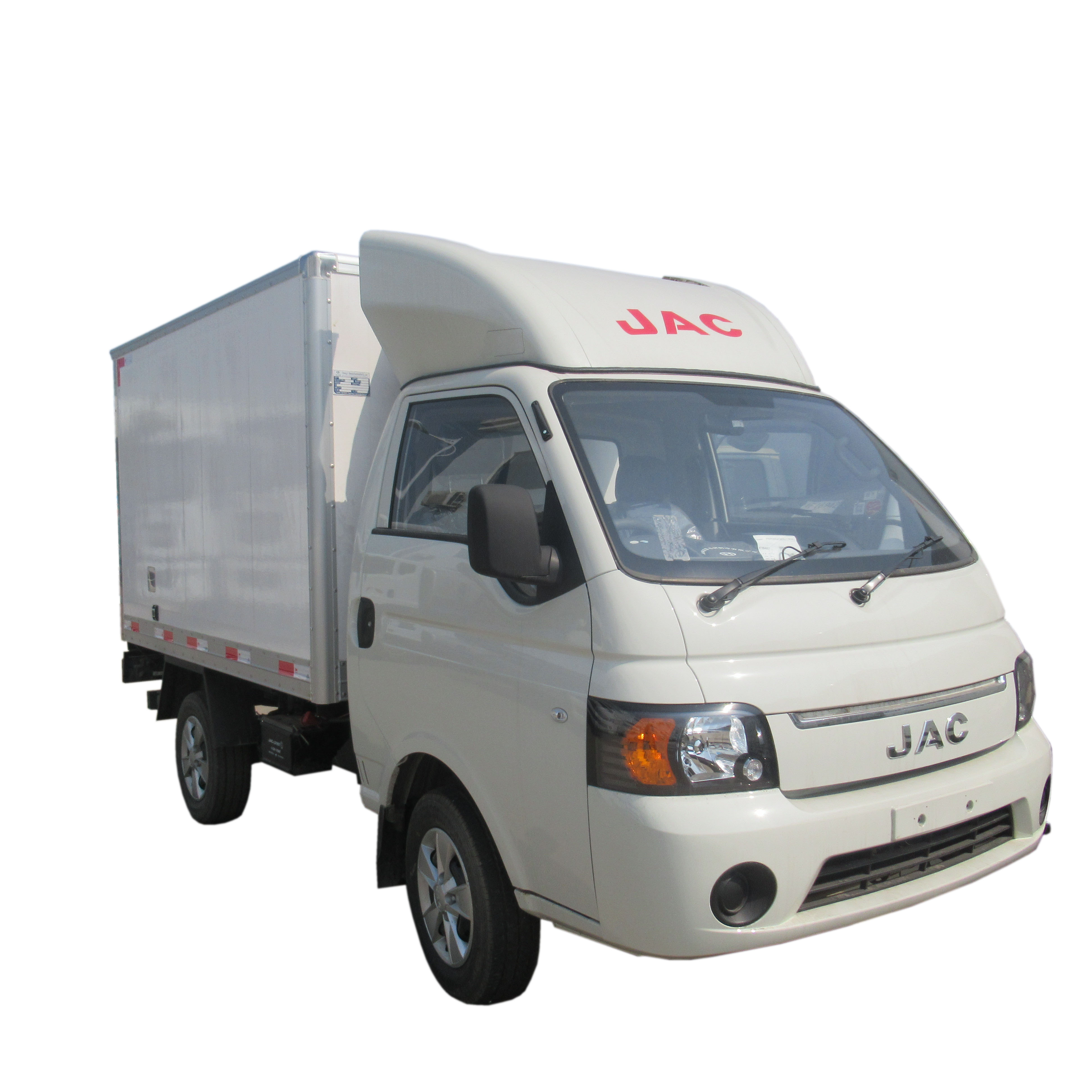 Jac 4x2 1 5 Ton 1ton 2 Ton Meat Hook Stainless Steel Polyurethane Foam Beef  Reefer Truck Vans For Meat Delivery - Buy Vans For Meat Delivery,Small