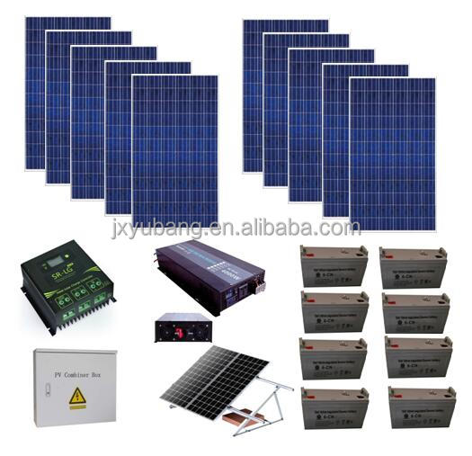 Off grid 3KW 3000 Watts solar panel systems solar energy system solar power systems