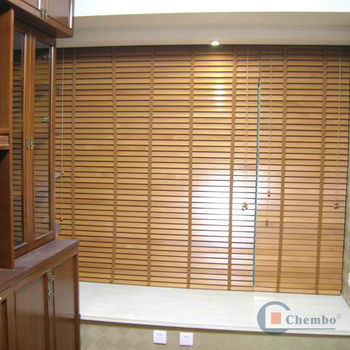 Pvc Patio Horizontal Blinds For Window