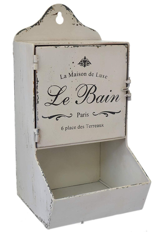 Buy Le Bain French Bathroom Wooden Wall Art Sign Bath Door