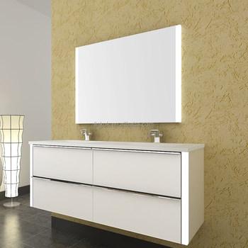 Foshan affordable modern white high gloss bathroom - High gloss bathroom cabinets white ...