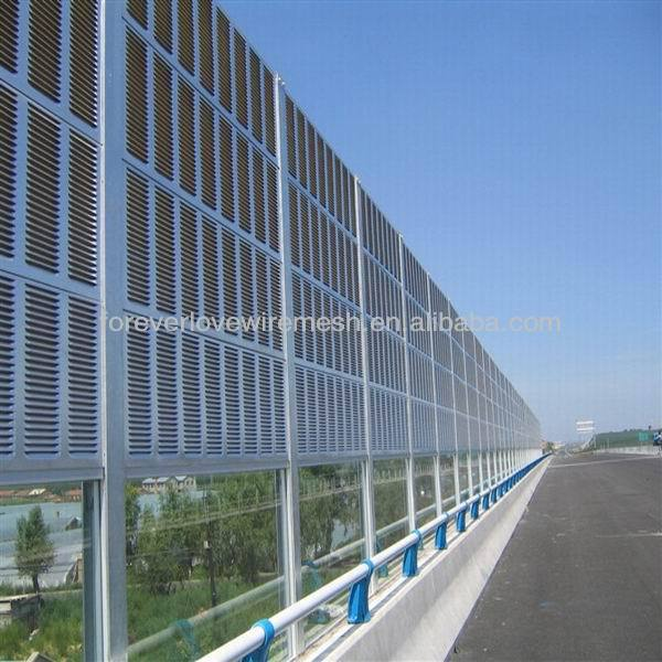 Foreverlove high way and railway acoustic noise barrier/barrier fence