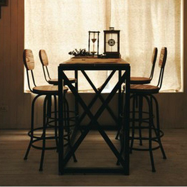 schmiedeeisen tische und st hle setzt schlepplift st hle dreh drei st ck casual caf bar antiken. Black Bedroom Furniture Sets. Home Design Ideas