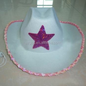 Wholesale cheap felt stetson cowboy hat For adult and children custom  printed cowboy hat 97ff97cbfb1