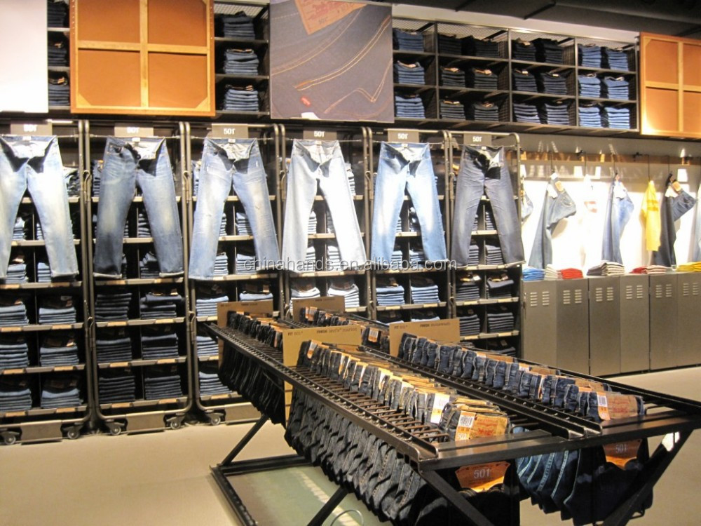 Famous Brand Garment Shop Interior Design