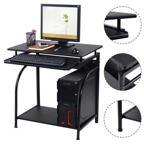 Desk PC Laptop Desk computer Writing Table Workstation Home Office Study Furniture