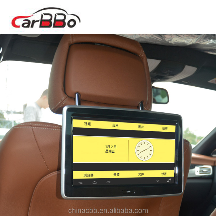 Android vertical <strong>car</strong> dvd replacement lcd <strong>tv</strong> screen android 6.0.1 OS <strong>car</strong> 1080p headrest monitors