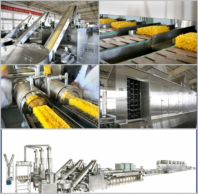 Economical Automatic Gluten-free Instant Cereal Noodle Extruding making machine
