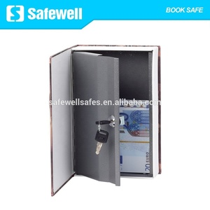 Safewell RW802B Book Safe with Combination Lock ,Home Dictionary Diversion  Metal Safe Lock Box