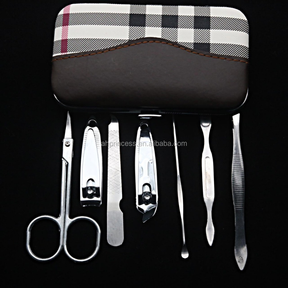 Good cutting manicure kit for promotion manicure and pedicure sets, professional manicure sets