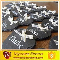 chrismas decoration natural slate handing memo board