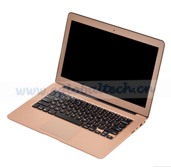 13.3 Inch 5th generation laptop i3 5005U notebook computer with 8GB RAM+256G SSD 1366*768,Metal