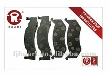 Truck disc brake pads for DODGE