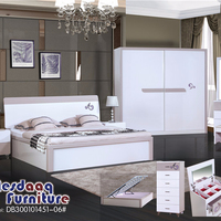 Master King Luxury Contemporary MDF Turkish Design luxury bed furniture double bedroom set