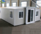self contained foldable expandable metal prefab container house buildings design in philippines for sale