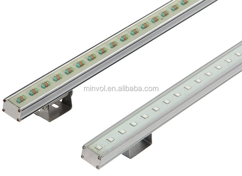 Dmx Remote Controlled Rgb Led Linear Light,Led Strip Facade Wall ...