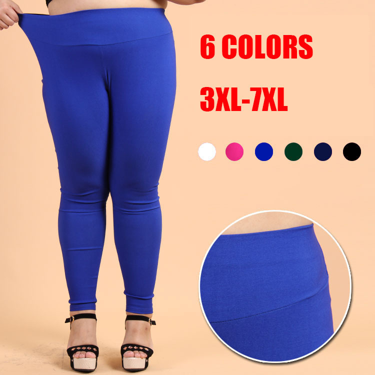 Plus Size 3xl 7xl Pencil Pants Women Leggings Pants New Autumn Long Pants Slim Fit Brand Female Trousers Big Size 6candy Colors Trousers History Pants Costumepant Skirt Aliexpress