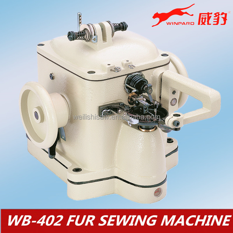 chain stitch fur industrial sewing machine WB-402 wollens sewing machine