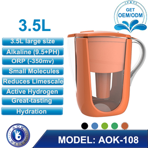 Alkaline Mineral & Energized Water Pitcher Good Tasting, Economical, Environmentally Friendly