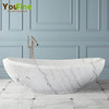Hot Sale Stone Carving Solid Marble Bathtub