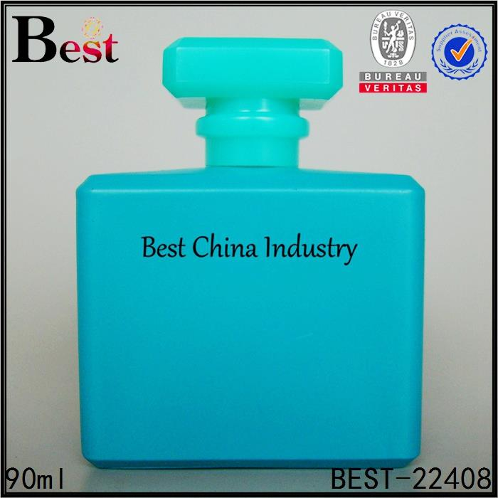 50ml 100ml mist spray perfume bottle empty colorful square shape glass bottle cologne glass bottle supplier in china