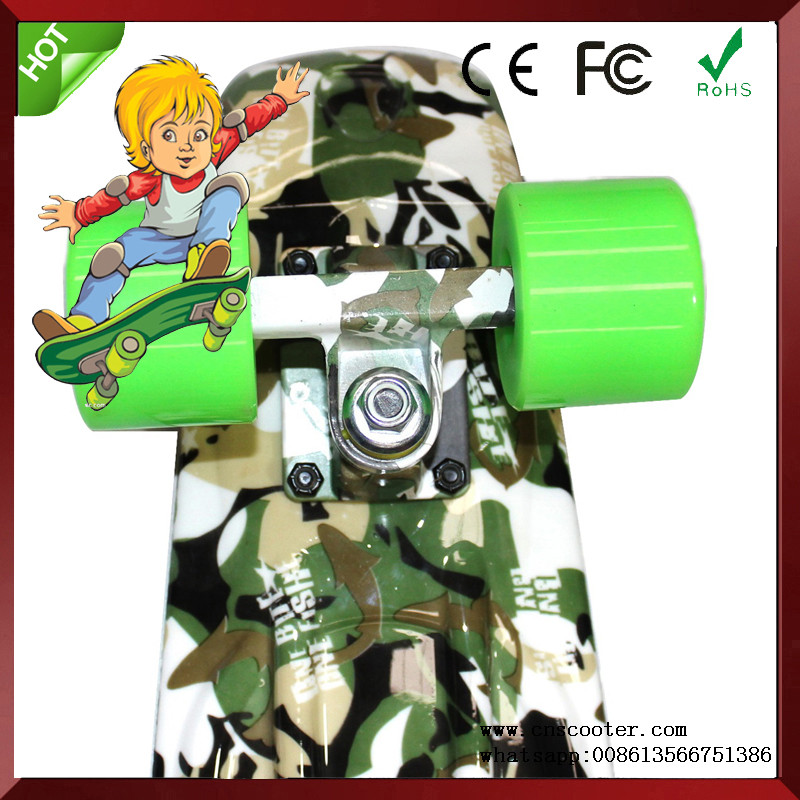 CE Approved Old school mini board plastic skateboard for sale