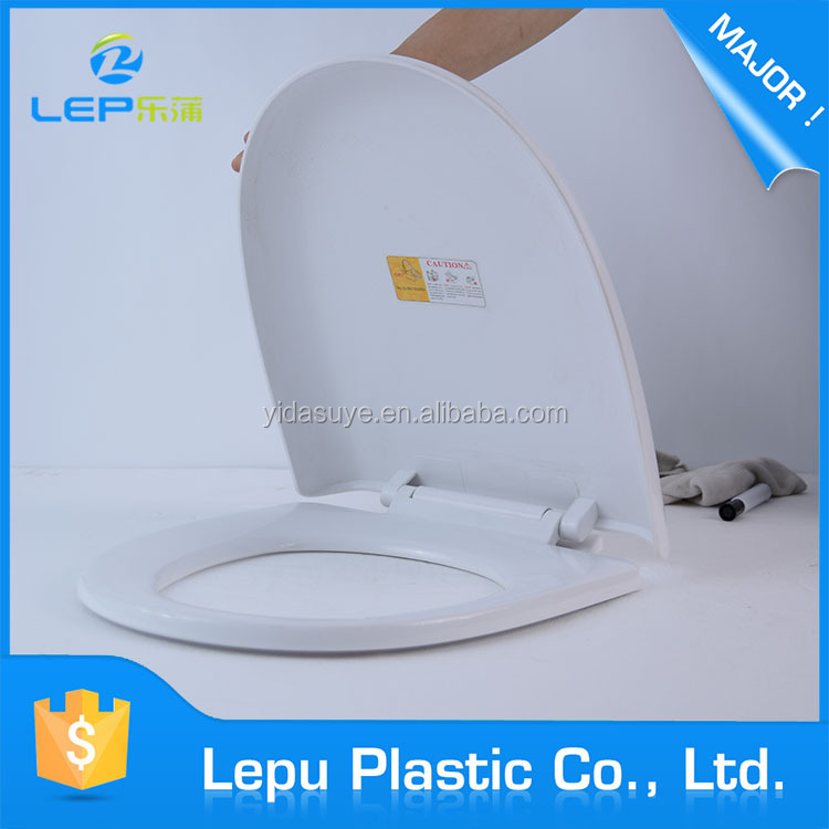 Wholesale china import pp material white diy toilet seat cover