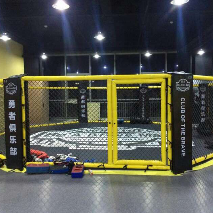 Hot Sale Competition Events Floor Standing Fighting Octagon Mma Cage
