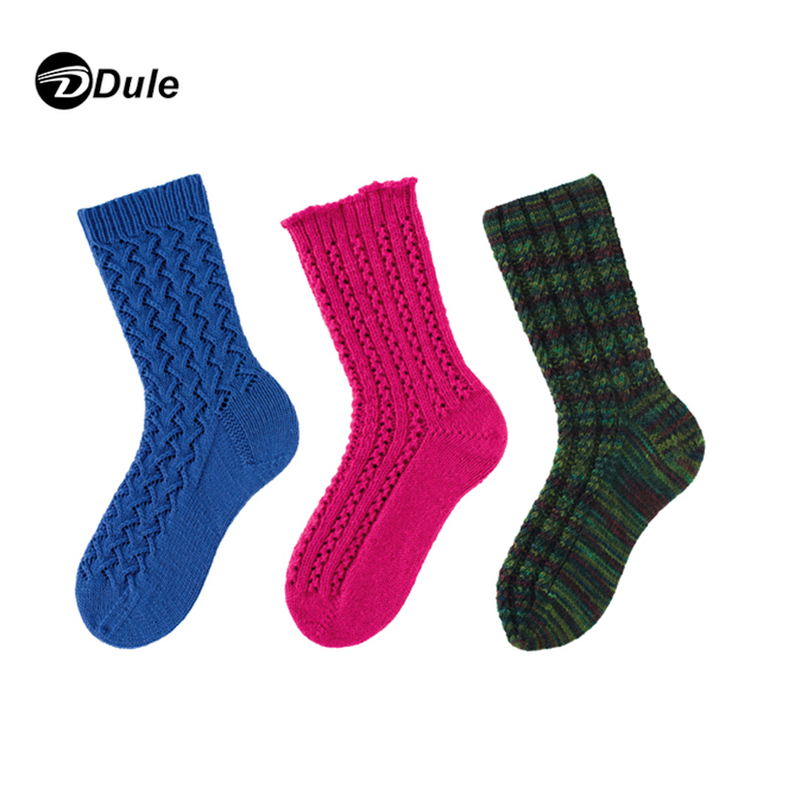 DL-II-1452 cable knit socks woven socks knitting socks