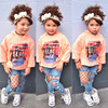 2019 Spring fashion clothes for girls kids baby wholesale