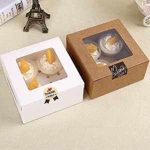 cheap price Chilly Cupcake Boxes, Pastry and Cookie Box