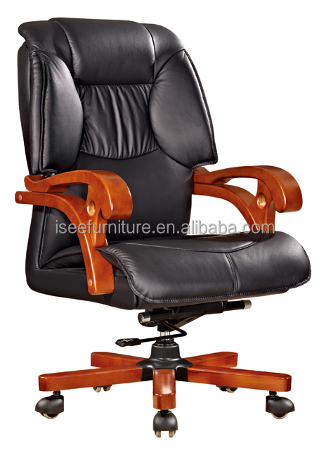 Cheap Wooden Office Chairs Without Armrest Country Style Office