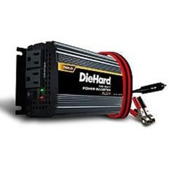 SCU71496 Charge Xpress Power Inverter, DieHard, 850 Peak Watts, 425 Continuous Watts, 2 AC Outlets, HD Battery Clamps
