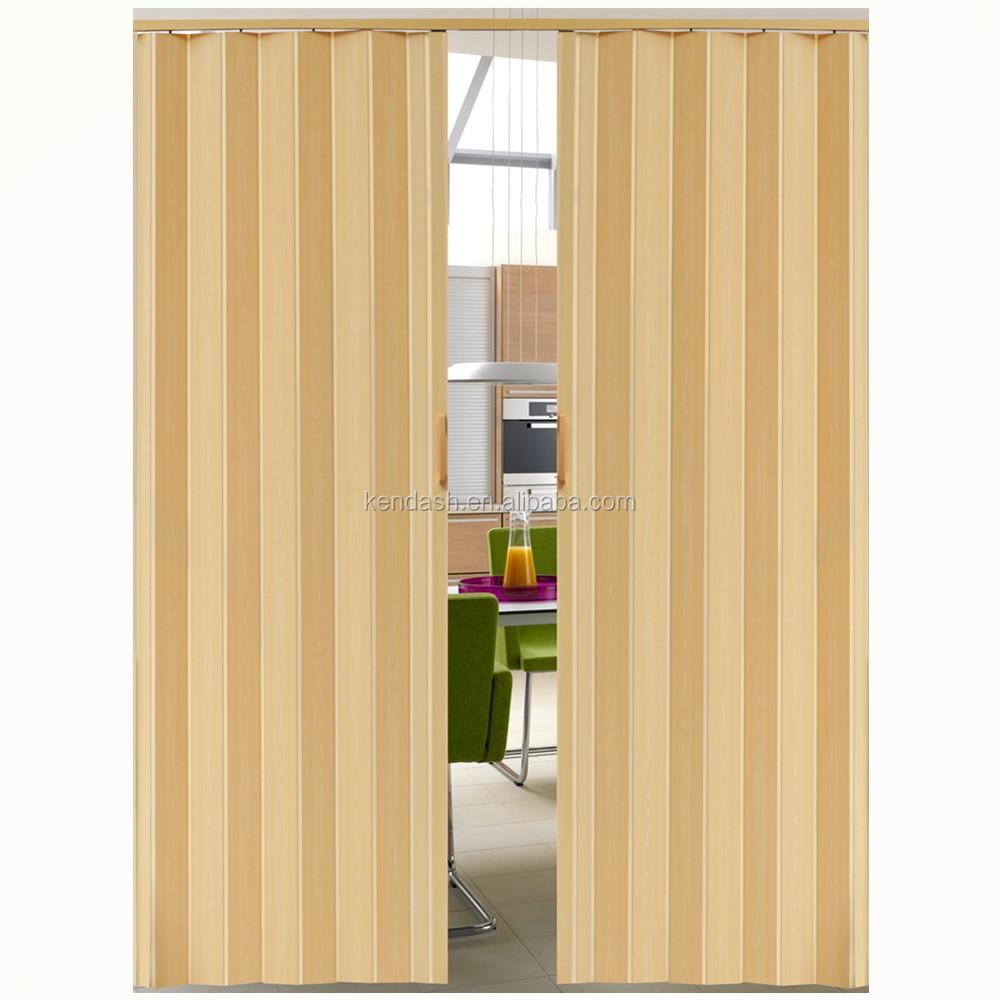Egypt Pvc Plastic Folding Sliding Doors In Dubai Indoor Buy Pvc