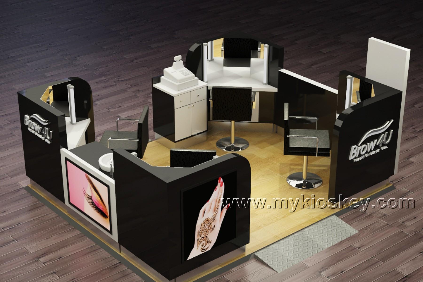 Magasin Des Idees Deco salon de beauté sourcil filetage magasin kiosque de barre frontale idées de  décoration - buy kiosque de barre de front,idées de décoration de salon de