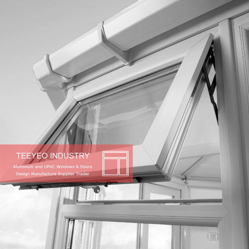 Teeyeo upvc awning hardware window stay True picture
