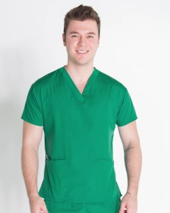 2017 fashionable design male nurse uniform vest / design nurse uniform for hospital use