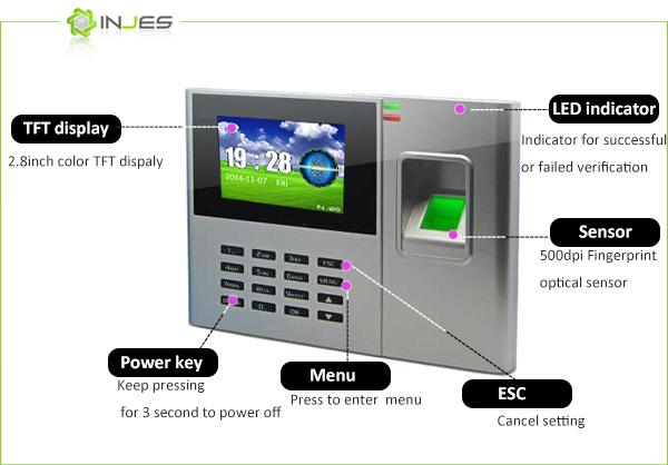 Biometric Fingerprint Timekart Professional Free Sdk From Injes Technology  - Buy Professional Free Attendance Software,Free Attendance