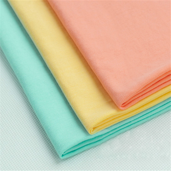 95% cotton 5% spandex jersey fabric rolls
